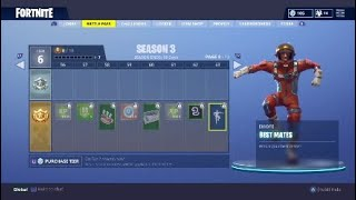 New Best Mates Emote - Season 3 Battle Pass Fortnite Battle Royale