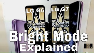 LG G7 Vs LG G6 Cameras Bright Mode Explained !! | SHOCKING RESULTS !!! | LOW LIGHT ONLY !!!