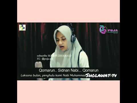 Qomarun Sidnan Nabi Cover Puja Syarma Terbaru 2018 Merdu Syahdu - SHOLAWAT TV #5