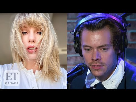 Harry Styles Reacts To Taylor Swift Writing Songs About Him Youtube