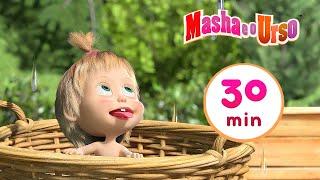 Masha e o Urso - 🐷 Dia de Lavar a Roupa 🧺 Compilação 9 🎬 30 min