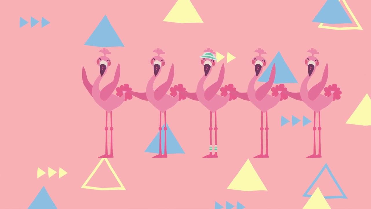 Die Flamingo-Revue (3 Stunden Dance Mix Flamingo Lied) | MoupMoup ...