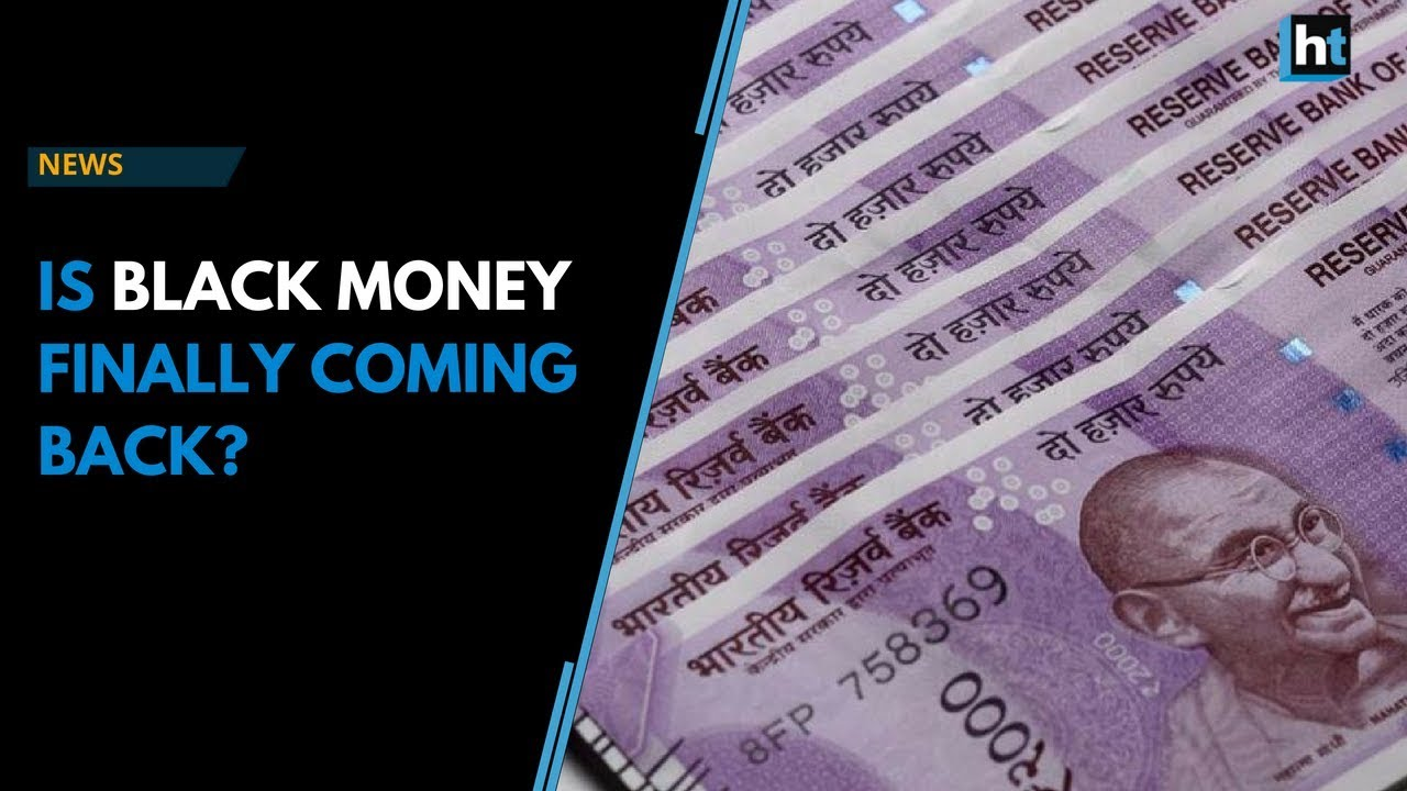 how to get black money