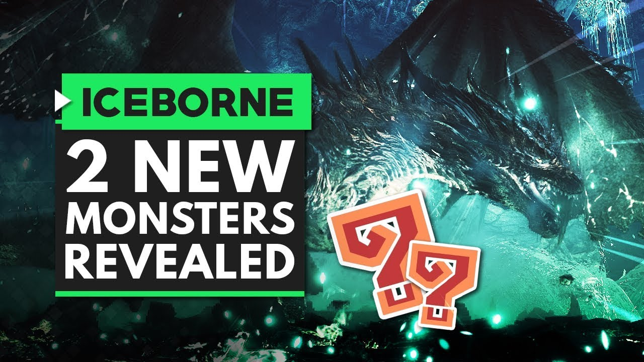 Monster Hunter World Iceborne | 2 NEW MONSTERS Revealed! Stygian Zinogre & Mystery Dragon thumbnail