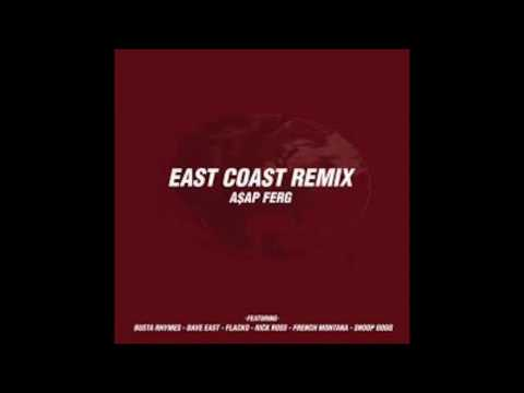 """A$AP Ferg """"East Coast"""" (Remix) Feat. Dave East, A$AP Rocky, Rick Ross, French Montana & More (Audio)"""