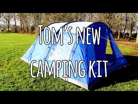 sc 1 st  YouTube & Vango Icarus 600 test set up : Tomu0027s new camping kit - YouTube