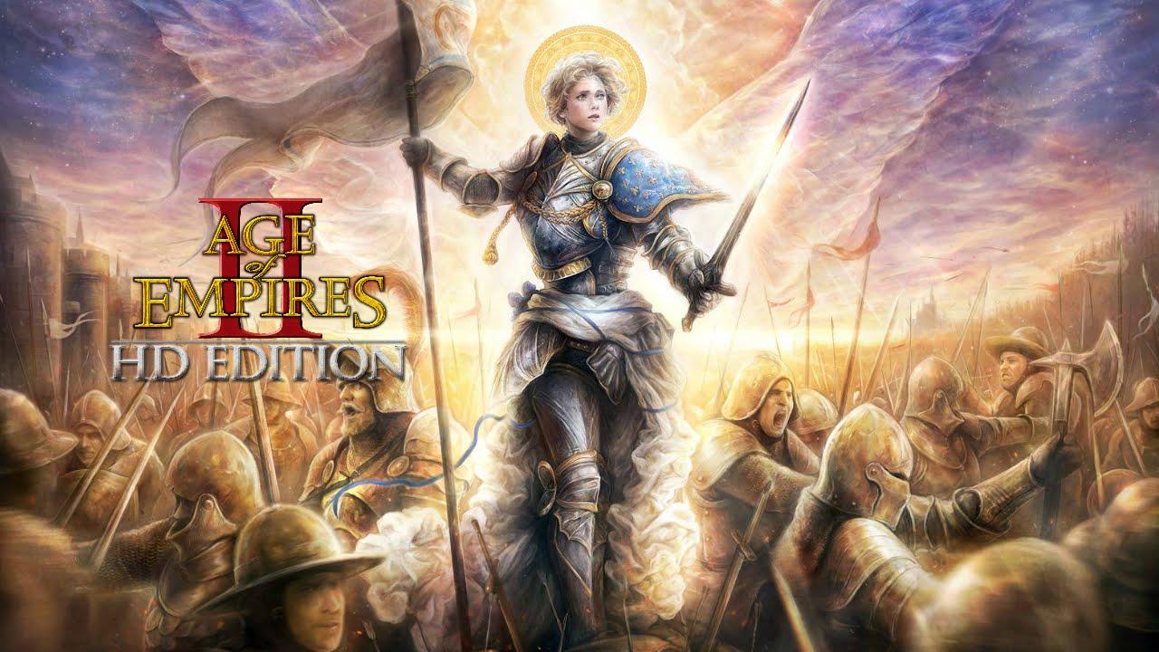 Age of Empires 2: Joana d'Arc #2 - A Donzela de Orleans