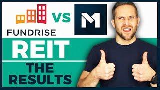 Fundrise VS M1 Finance REIT - 10 Month Investment Portfolio Update