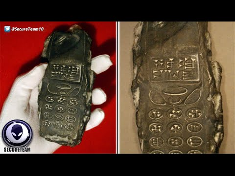 DEBUNKED! 800 Year Old Alien Cell Phone Discovery 1/4/2016