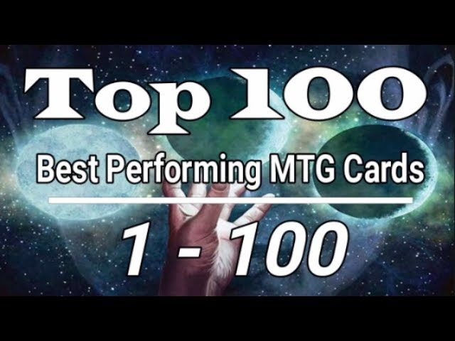 Top 100 Cards 2019