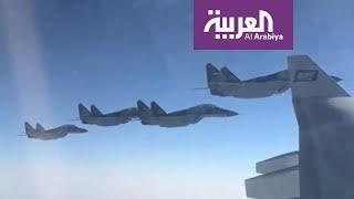 مقاتلات مصرية ترافق طائرة ولي العهد السعودي