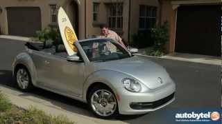 2013 Volkswagen Beetle Convertible 70's Edition Test Drive & Car Video Review