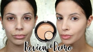 Revlon Colorstay 2-in-1 Compact Review + Demo