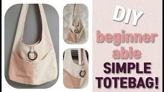 DIY BEGINNER able SIMPLE TOTEB…