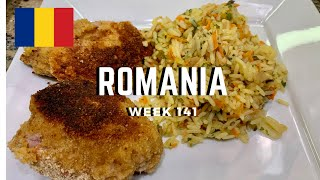 Second Spin, Country 141: Romania International Food