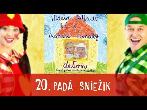 Padá sniežik - SPIEVANKOVO | CD - DEŤOM 1
