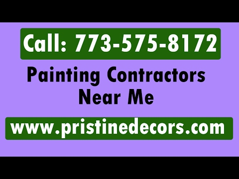 Paint Contractors Near Me Call 773 575 8172 Youtube