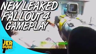 fo4 new leaked fallout 4 gameplay perk system movement pip boy more thoughts and notes