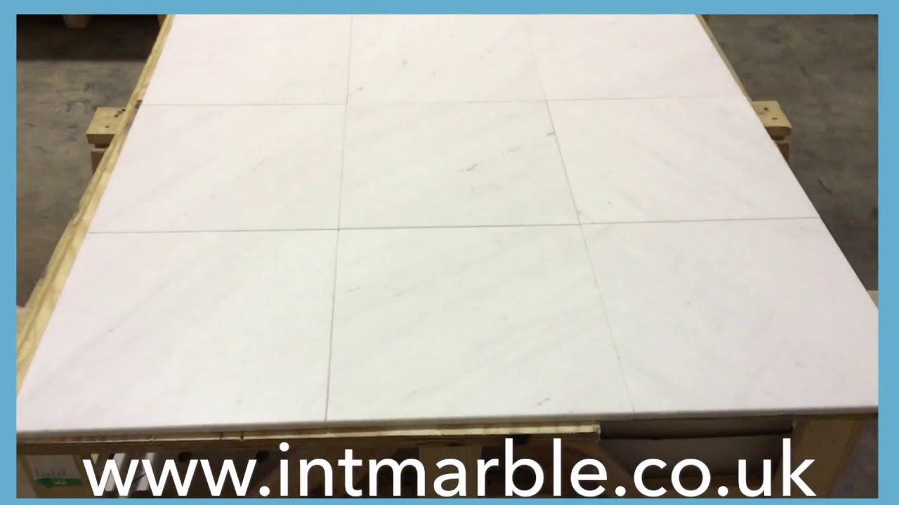 Marble tiles snow white honed marble flooring 12x12 youtube marble tiles snow white honed marble flooring 12x12 dailygadgetfo Choice Image