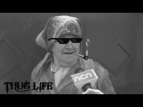 Cele mai tari faze cu babe (Thug Life Romania)