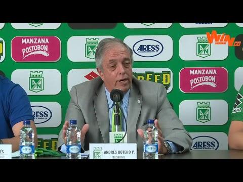 ¡Presentación de Jorge Almirón, nuevo técnico de Nacional!