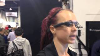 TechnoGym App For Google Glass At CES 2014