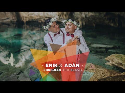 Adán y Erik 🏳️🌈❤️ #OrgulloTodoElAño