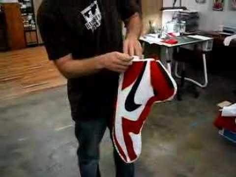Nike Air Jordan 1 Christmas Stocking - YouTube