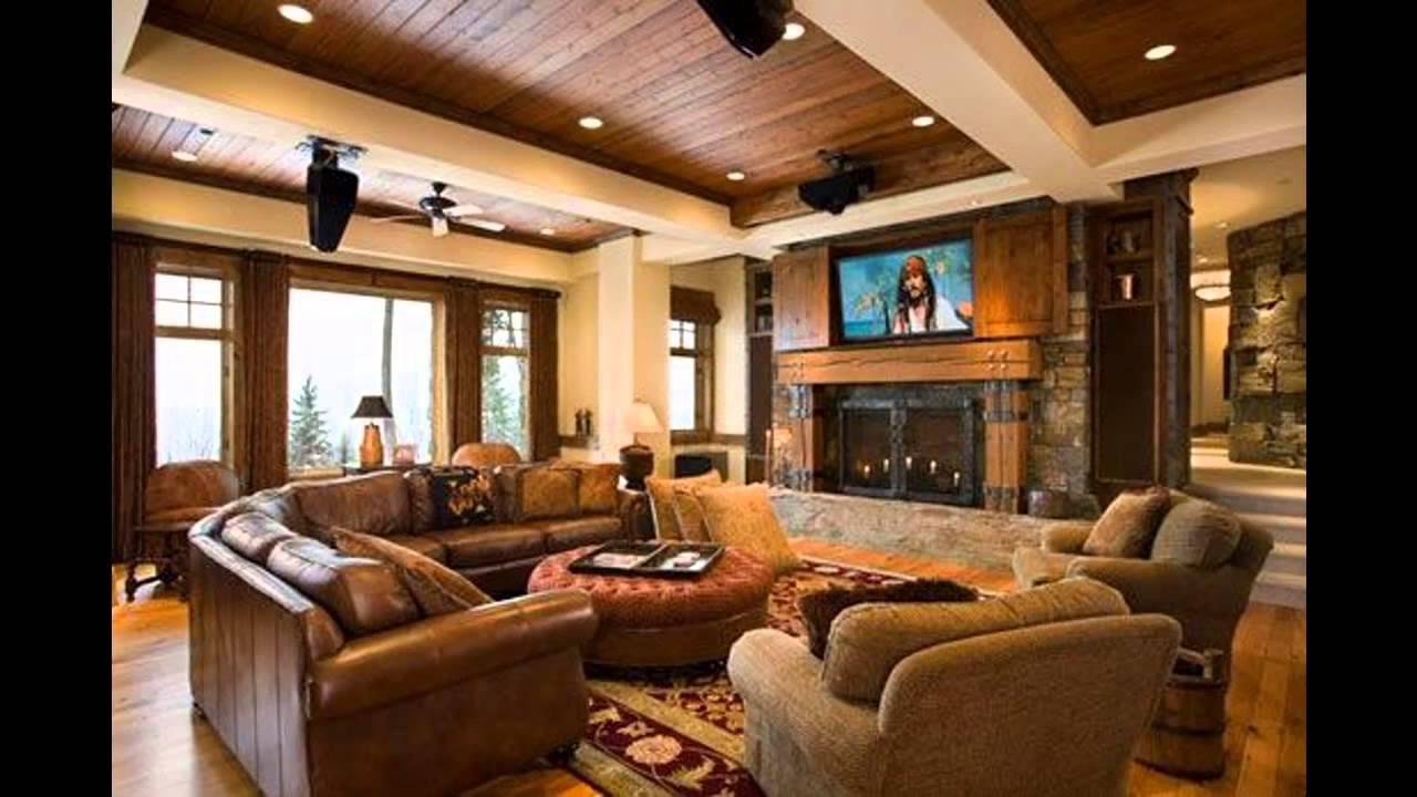 Interior de una casa rústica youtube