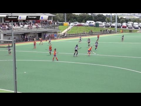 Auckland U15 Girls prem Hockey  vs Tauranga  2017