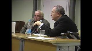 Владимир Буковский в Смольном институте СПбГУ. 2007 г.
