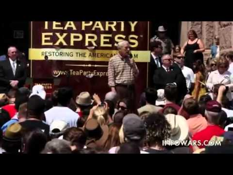 RON PAUL Speech at Austin Texas Tea Party Rally - Can he make REAL CHANGE in America?