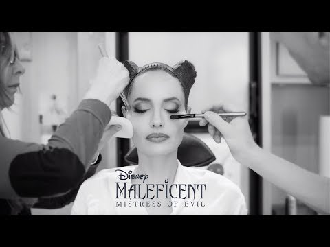 Amanda McGraw - WATCH Angelina Jolie Transform into Maleficent in 30 Seconds