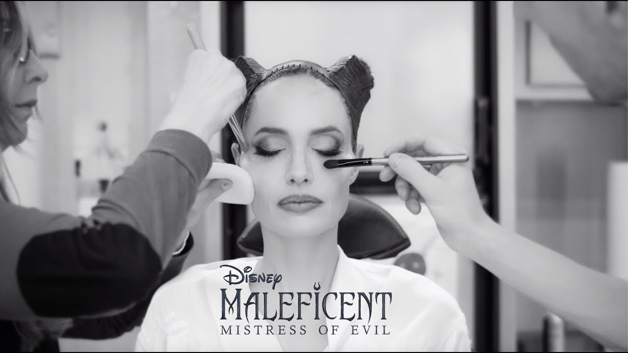 Watch Angelina Jolie Transform Into Maleficent In New Set