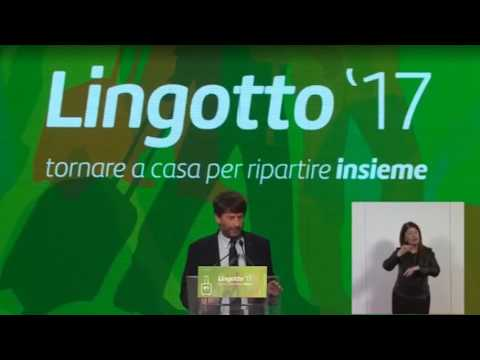 Intervento di Dario Franceschini al Lingotto - 11/03/2017