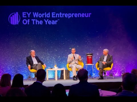 Selim Bassoul at World Entrepreneur of the Year 2016 Monaco: