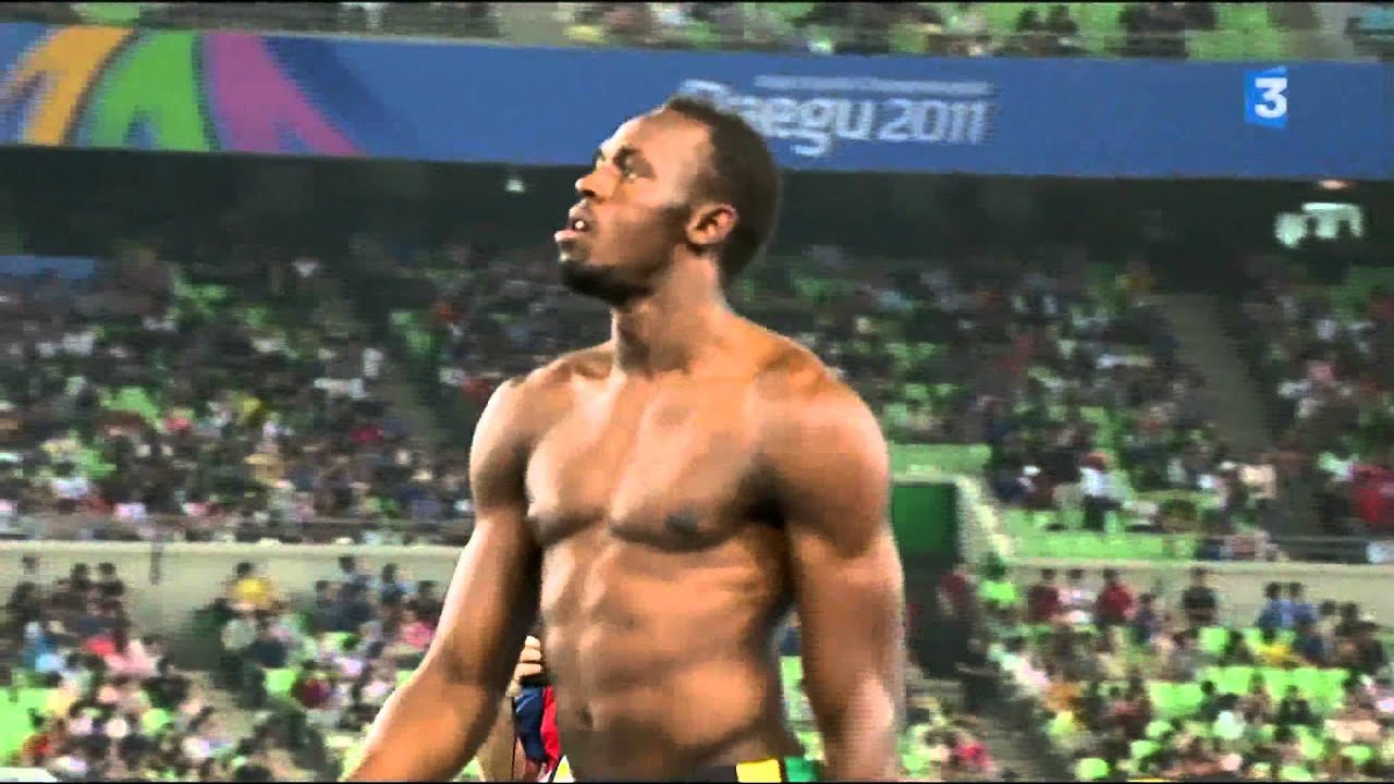 Usain Bolt 2011 100m Final Tragedy And Triumph Semi Final 200m Final