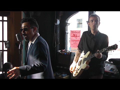 Steve WEST WESTON'S BLUESONICS Talk Back RAILWAY HOTEL Southend Essex 7/5/17
