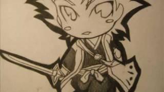 How to Draw Chibi Hitsugaya Toshiro