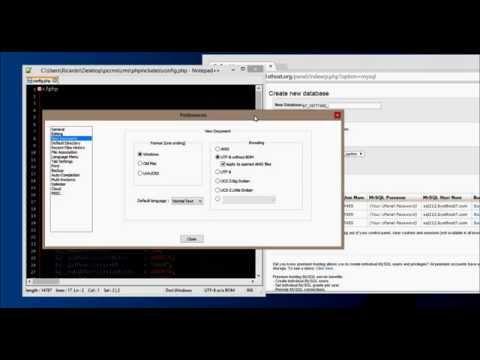 PCCMS - Extra - UTF-8 Without BOM
