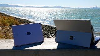 """Surface Pro 4 VS. iPad Pro 9.7"""" Comparison & Review!"""