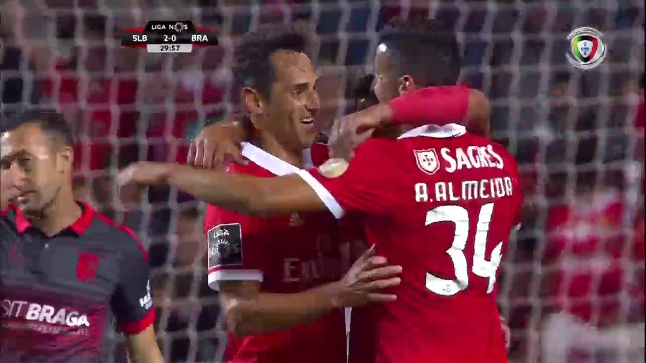 Resumo Benfica: Resumo Benfica 3-1 Braga (Liga 1ªJ)