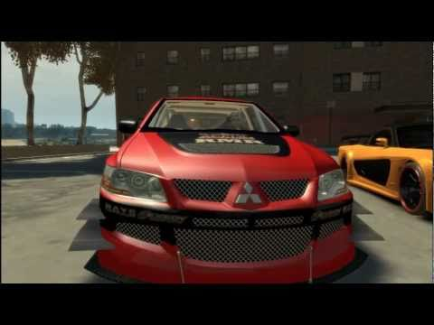Grand Theft Auto Iv Tokyo Drift Cars Youtube