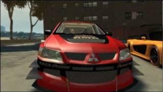 Grand Theft Auto IV - Tokyo Drift Cars