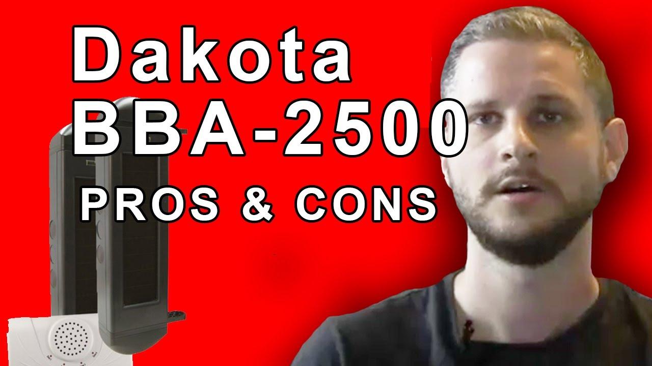 Review The Dakota Alert Bba 2500 Break Beam Kit Youtube Ir Breaker