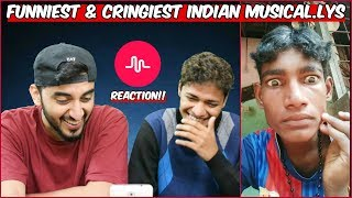 Funniest & Cringiest Indian TikTok Musicallys   TikTok Musical.ly Reaction !