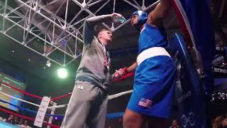 USA Boxing Helps Kick off PyeongChang