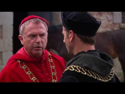Thomas More and Wolsey (The Tudors Scene)