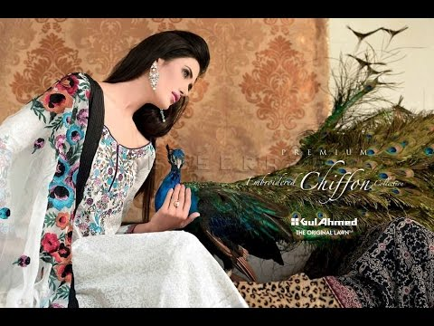 45992c3d58 Gul Ahmed Summer Lawn Collection 2017 2018 - YouTube