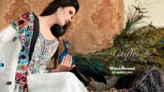 Gul Ahmed Summer Lawn Collection 2017 2018